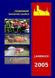 Jahrbuch 2005 - FEUERWEHR Gemeinde Laufach