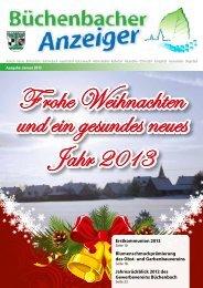 Januar 2013 - Gemeinde Büchenbach