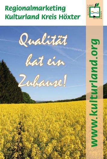 Postkarte Raps - Kreis Höxter