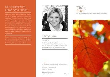 Download Flyer Laufbahnentwicklung, Coaching ... - Fravi und Fravi