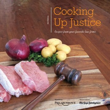 Download Cooking Up Justice in PDF Format (file - Law.com