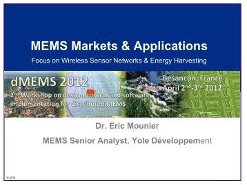 MEMS Markets & Applications