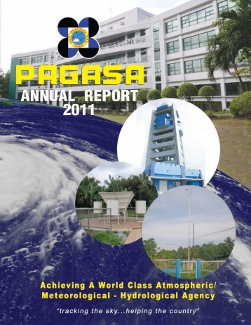2011 Annual Report - pagasa - Department of Science and ...