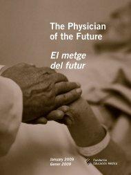 The Physician of the Future El metge del futur - Educación Médica