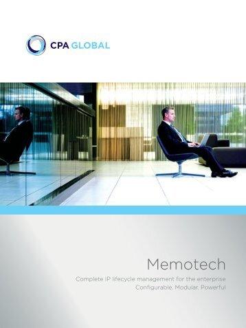 Memotech - CPA Global
