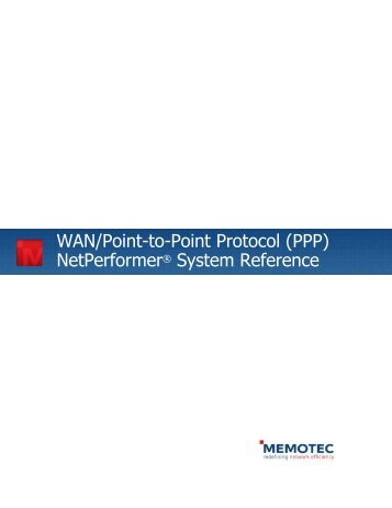 WAN_Point-to-Point Protocol - Comtech EF Data