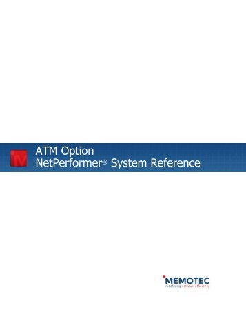 ATM Option System Reference - Comtech EF Data