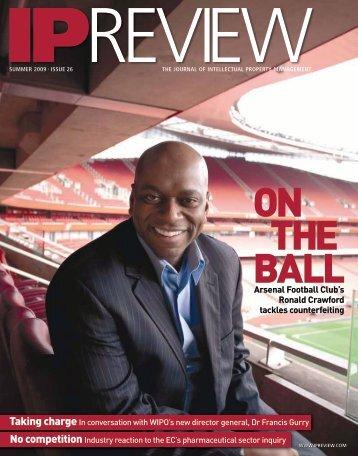 Arsenal Football Club's Ronald Crawford tackles ... - CPA Global