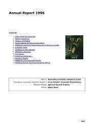 Annual Report 1996 - BNP Paribas Bank