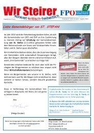 Gemeindekurier Ausgabe 1-2012