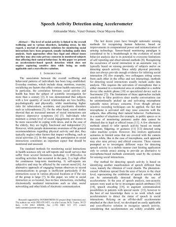 Speech Activity Dete.. - Venet Osmani, PhD