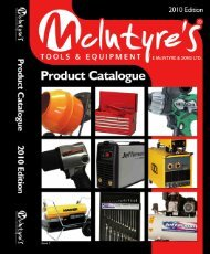 Download our 2011 Catalogue Right Click & Select - McIntyres ...