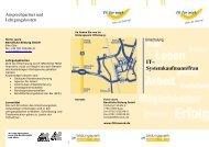 Informationsflyer Umschulung zum/zur IT - fit for work