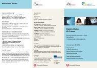 Fit in MINT Flyer zur Weiterbildung Digitale Medien - bremer und ...