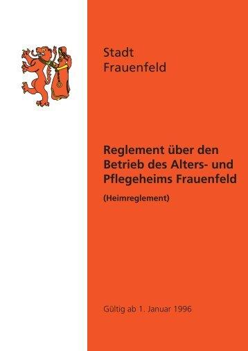 D. FINANZEN - Stadt Frauenfeld