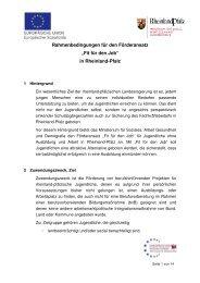 Fit für den Job - Europäischer Sozialfonds - Mehr Chancen für ...