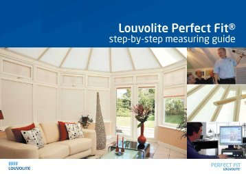 Perfect Fit Step-by-Step Roof Guide - Louvolite Window Blinds