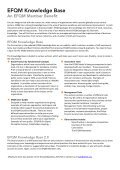 Knowledge Base One pager - EFQM - Page 2