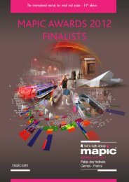 List of MAPIC Awards 2012 finalists in PDF