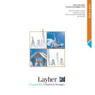 Scale a pioli - Layher