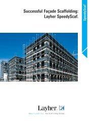 Speedy Scaffolding - Layher