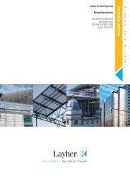 Schutz - Systeme - Komplettprogramm - Layher
