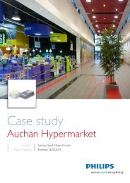 Download Case study Auchan Hypermarket - Philips Lighting