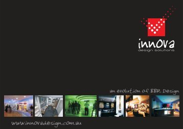 download our retail portfolio - Innova Design