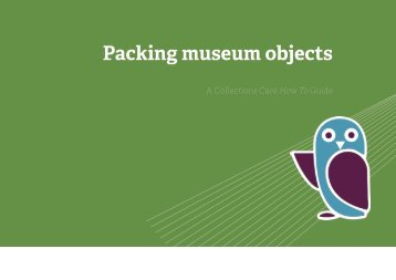Packing museum objects - SHARE Museums East