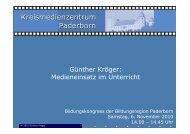 Medieneinsatz - Kreis Paderborn