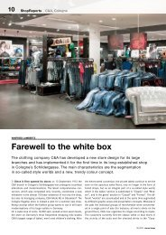 Farewell to the white box - New Store Europe