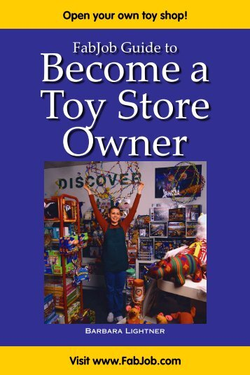 Toy Store Owner - Fabjob.com