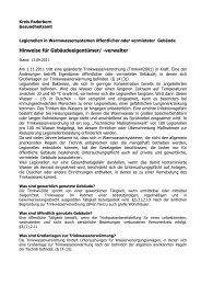 Merkblatt Legionellen Kreis Paderborn