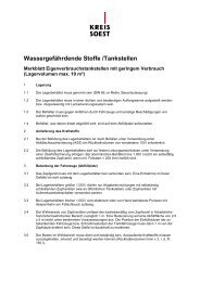 Merkblatt Eigenverbrauchstankstelle - Kreis Soest