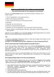 Merkblatt in deutscher Sprache - Kreis Soest