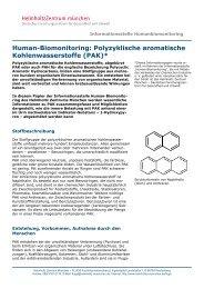 Polyzyklische aromatische Kohlenwasserstoffe (PAK) - Helmholtz ...