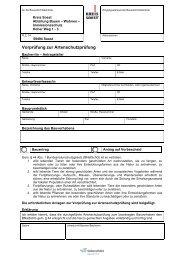 Vorprüfung Artenschutz - Kreis Soest