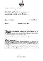 zum Thema - Kreis Soest
