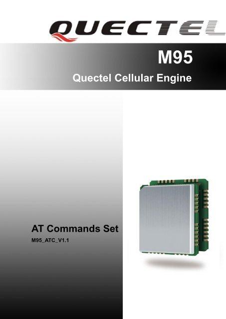Quectel M95 AT commands set - Acme Systems srl