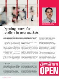Opening stores for retailers in new markets - Wincor Nixdorf