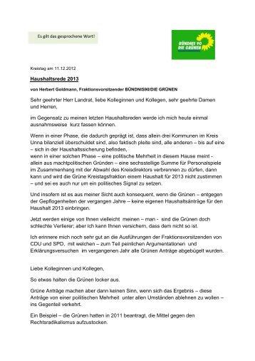 Herbert Goldmann - Kreis Unna