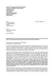 Stellungnahme (24 KB ) - Kreis Wesel