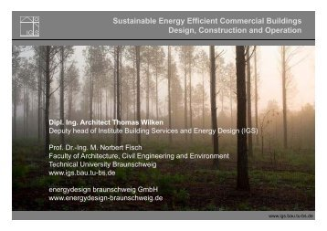 Sustainable Energy Efficient Commercial Buildings ... - AHK Tunesien