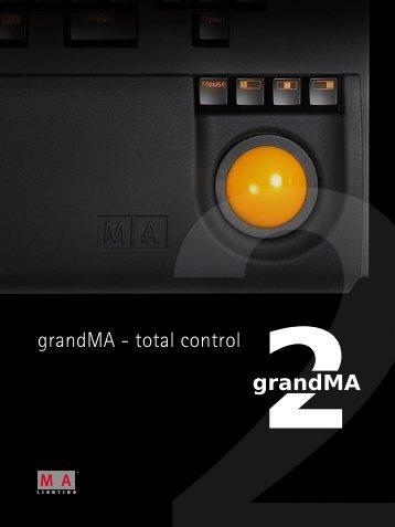 MA Lighting grandMA2 Katalog - LDDE Vertriebs GmbH