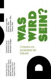 Was wird sein? 2008 - Frei + Saarinen