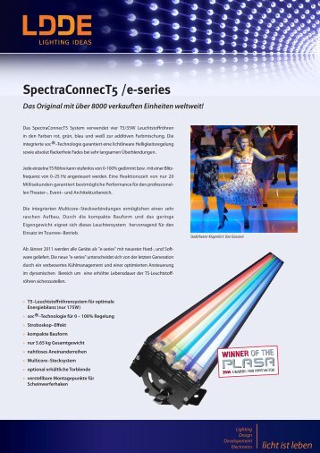 SpectraConnecT5 /e-series