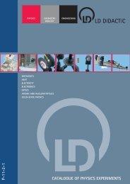 PDF Catalogue - LD DIDACTIC