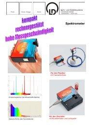 Spektrometer - LD DIDACTIC
