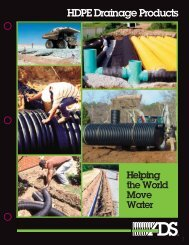 HDPE Drainage Products - ACF Environmental