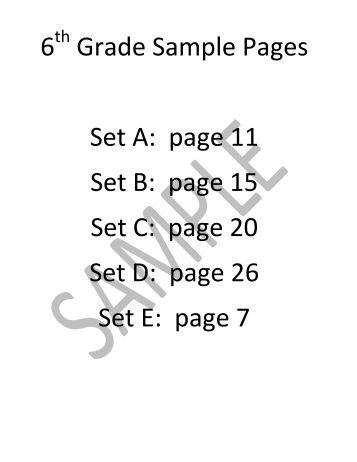 Grade 9,10,11XL Math Chart